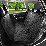 Dog Seat Cover For Cars - Waterproof Nonslip Backing With Seat Anchors, 148cm width X 138cm length. - Hammock Style, Luxury Pet Car Seat Protector - Universal Fit