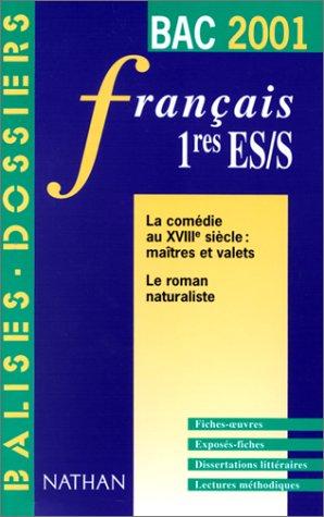 Bac 2001 - Français 1ère ES, S