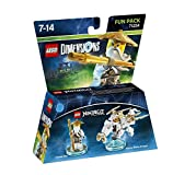 Cheapest LEGO Dimensions  LEGO Ninjago  Sensei Wu (White Ninja) Fun Pack on PlayStation 2
