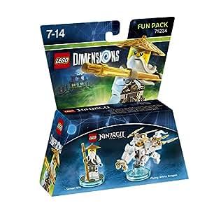 Figurine 'Lego Ninjago' Pack Héros - Sensei Wu : Fun Pack