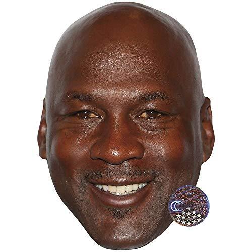 Celebrity Cutouts Michael Jordan Maske aus Karton