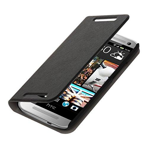 kwmobile HTC One Mini 2 Hülle - Handyhülle für HTC One Mini 2 - Handy Case Schutzhülle Klapphülle