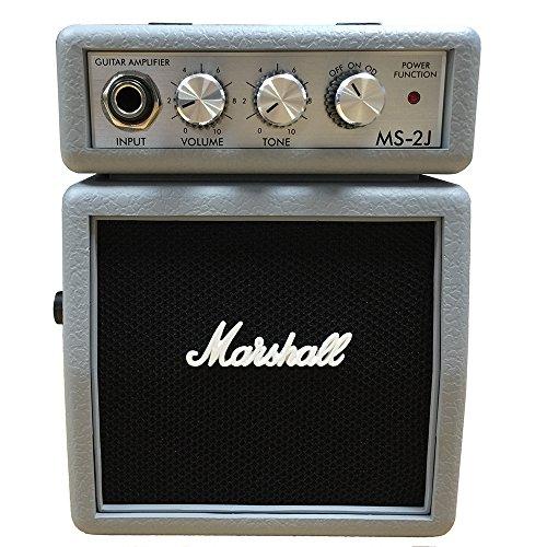 Amp Marshall Rote (Marshall MS-2SJ silber | Mini-Amp | Microbe | Gitarren-Verstärker | NEU)