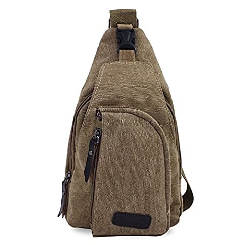 PsmGoods®Hommes sac à bandoulière Loisirs sac à bandoulière Sac de randonnée sac à dos Sac (Tela Sling)