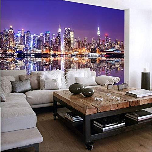 Sucsaistat Wallpaper Wandbild Personalisierte Dessert Wein Thema UK Vintage Stadt Tapete Tapete 3D Wandbild Tapete Wohnzimmer Malerei, 250 * 175 cm