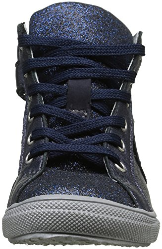 Achile Marta, Baskets Hautes Fille Bleu (12 Vts Marine Dpf)
