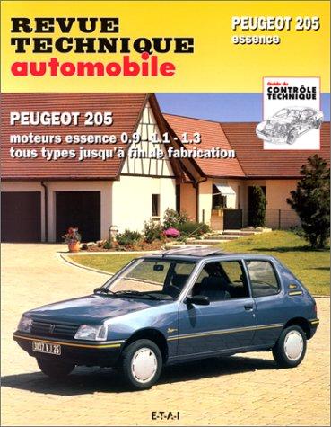 revue technique 708.2 Peugeot 205 1.1l-1.3l Moteur X-Tu (83/98)