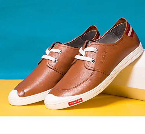 GRRONG , Mocassins pour homme yellow