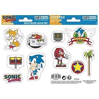 ABYstyle - Sonic - Stickers - 16x11cm - Sonic Retro