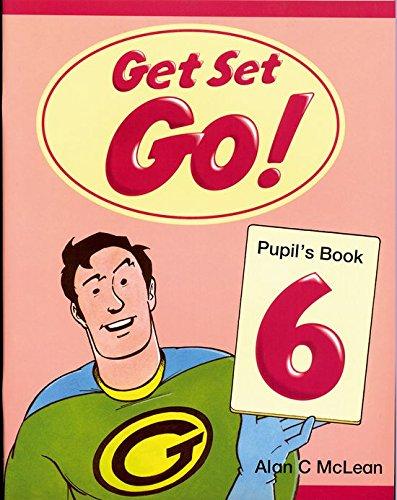 Portada del libro Get Set Go! 6: Pupil's Book: Pupil's Book Level 6 - 9780194351195