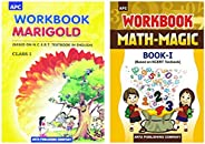 APC English And Maths NCERT Workbook For Class 1 (2020-2021)(Set of 2 Books)