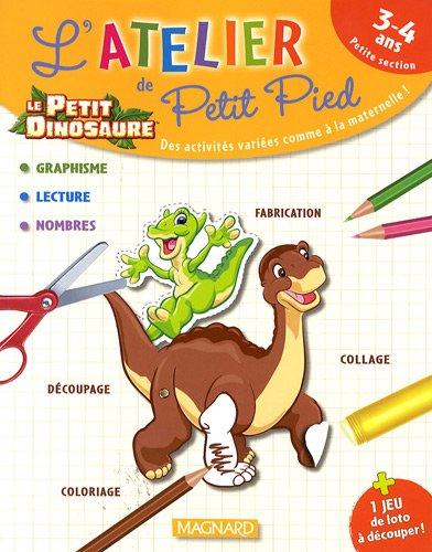 Le petit dinosaure, PS : L'atelier de Petit Pied