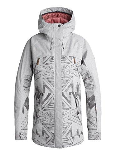 Roxy Tribe - Snow Jacket for Women - Snow Jacke - Frauen - S - Grau