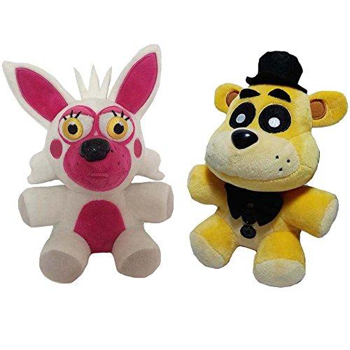 New Arrival Fnaf Bear and Foxy Fox Plush Soft Toy Doll For Kids Gift-Nueva Llegada Fnaf Bear y el Foxy Fox Suave De La Felpa Muñeca De Juguete Para Niños Regalo