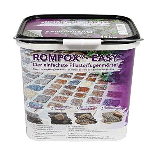 Romex ROMPOX-EASY Pflasterfugenmörtel (15kg, Sand-Neutral)