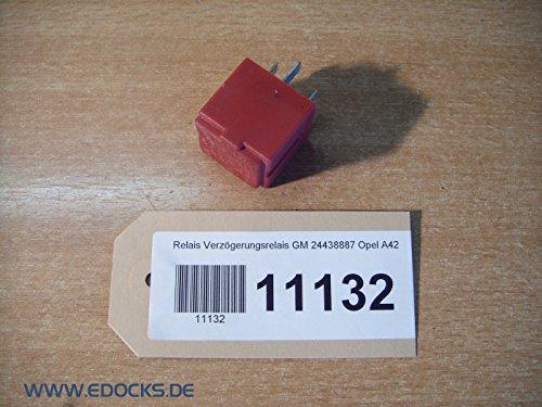 Relais Verzögerungsrelais GM 24438887 Opel