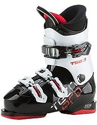TECNOPRO-Botas de esquí T50-3-Negro/Blanco, color multicolor, tamaño 23