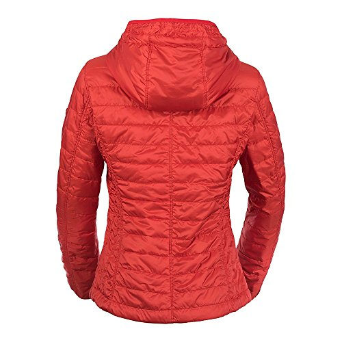 Camel Active Womenswear Damen Jacke Leichtstepp Blouson Rot (Red 84)