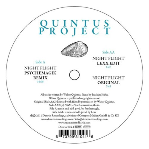 Night Flight (Lexx & Psychemagik Remixes)