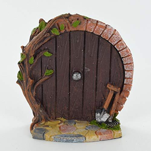 Tür-Baum Garten Home Decor-Fun Quirky Elf, Pixie, Fairy Geschenk Figur-7 ()