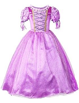 JerrisApparel Ragazze Vestito Abbigliamento abito da principessa costume