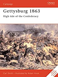 Gettysburg 1863: High tide of the Confederacy: High Tide for the Confederacy (Campaign, Band 52)