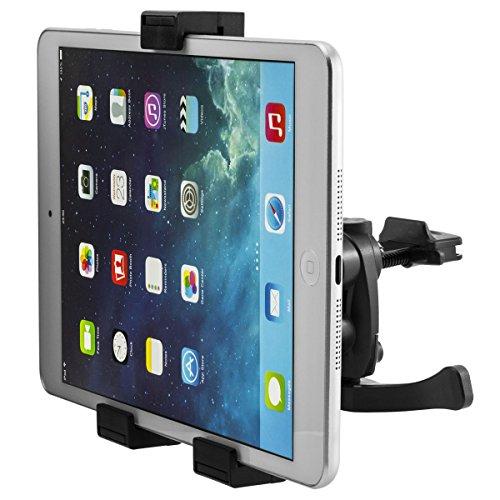 360° Drehbar Universal KFZ Auto Tablet PC 7-10 Zoll Lüftung Halterung für ACER Iconia Tab B1-A71 ; Iconia Tab B1-710 ; Iconia Tab A1-830 | Asus Fonepad 7 (ME372) ; Google Nexus 7 ; Google Nexus 7.2 ; FonePad ; Memo Pad HD 7 ; Memo Pad 8 (ME180) ; Memo Pad ME172V | Huawei MediaPad 7 Youth ; MediaPad X1 7.0 (7D-501L) | LG Electronics G Pad 8.3 | Apple iPad Mini 1, 2, 3 usw.