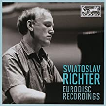 Svjatoslav Richter: Eurodisc Recordings