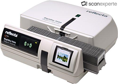 DIASCANNER MIETEN 1 WOCHE, Reflecta DigitDia 7000, Nachfolgemodell des DigitDia 6000, Schnelle Digitalisierung von Diamagazinen, Diascannen mit einer Auflösung von 10000 dpi - 2