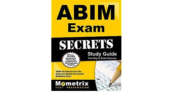 Buy ABIM Exam Secrets: Your Key to Exam Success