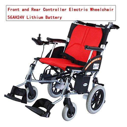 HEUFHU888 Elektro-Rollstuhl 4-Rad-Rollstuhl 10AH24V Lithium-Batterie Intelligent Control 18