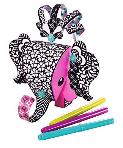 Amigami Large Set: Elephant with Colour Guide Paper -
