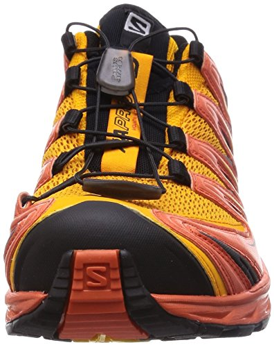 Salomon  Xa Pro 3D, Baskets pour homme rouge * Jaune - Yellow Gold/Tomato Red/Black