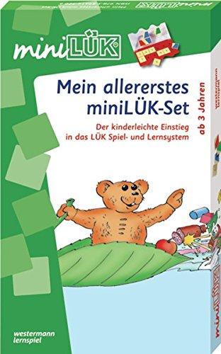 miniLÜK-Mein allererstes miniLÜK-Set (Cover Bild kann abweichen) (Spielzeug Bildern Mit)
