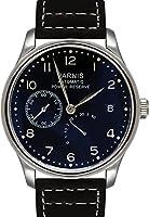 PARNIS Automatikuhr modelo 2092 señores mecánico de acero inoxidable Armbanduhr Lederarmband SeaGull Uhrwerk Gangreserve-Anzeige de PARNIS