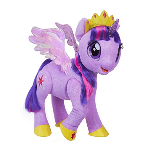 My little Pony C0299EF1 Film My Magical Princess Twilight Sparkle Spielzeugpony mit Plüsch