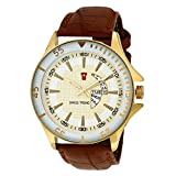 SWISS TREND Analogue Yellow Dial Men's W...