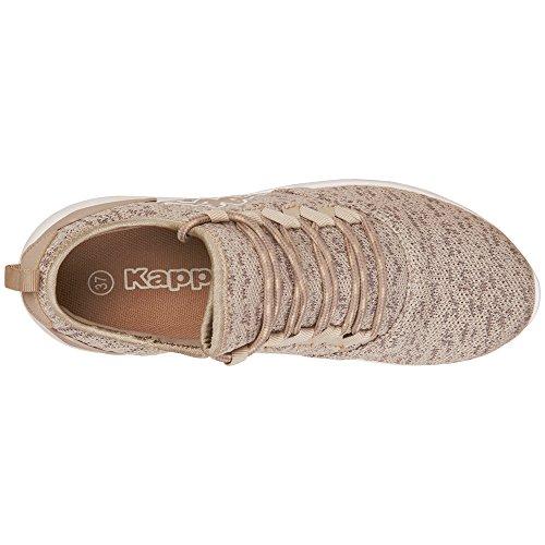 Kappa Flap, Baskets Mixte Adulte Beige (4243 Sand/Offwhite)