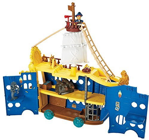 Mattel DMW56 Fisher-Price - Käpn't Jake's Magnus Colossus Spielset (Piraten Nimmerland Im Jake)