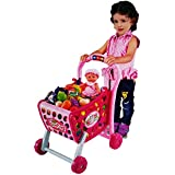 Big Size Kids Favourite Food Shopping Cart Trolley Set Toy(HCCD ENTERPRISE)