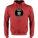 Pop Threads Hunter S. Thompson for Sheriff Heather Red XL Mens Fleece Hoodie Sweatshirt by