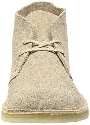 Clarks Originals Desert Boot, Chaussures de ville homme Beige (Sand)