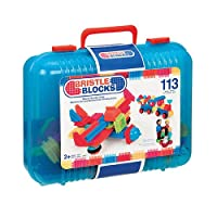 Bristle Block 113 piece Deluxe builder case