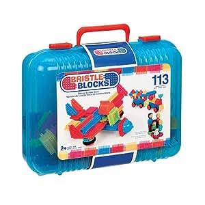 Bristle Blocks - BA3072E - Jeu de Construction - Bristle Blocks Deluxe Builder Case - 113 Pièces