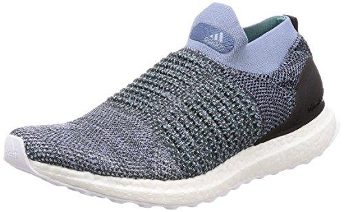 adidas Herren Ultraboost Laceless Laufschuhe, Blau (Rawgre Raw Grey/Carbon/Bluspi), 44 2/3 EU
