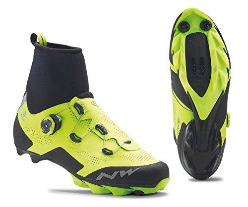 Northwave Raptor Arctic GTX Winter MTB Fahrrad Schuhe gelb/schwarz 2020: Größe: 44