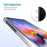 SLEO Case for Huawei Honor 8X Case, [Super-Slim][Reinforced Corners] Advanced Shock-absorbent Scratch-resistant Transparent TPU Case Cover for Huawei Honor 8X - Clear