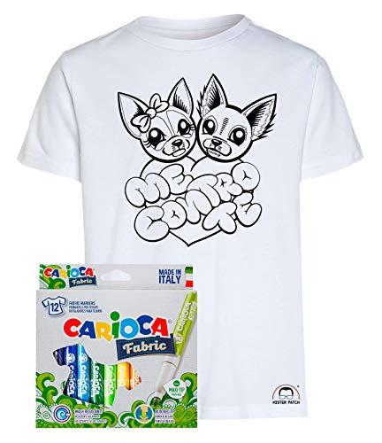 T-shirt Maglietta Dei Me Contro Te Sofi E Lui Bambino: Abbigliamento T-shirt E Maglie Kira E Ray 100% Cotone