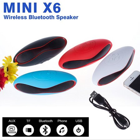 ESTAR MINI Bluetooth Multimedia Speaker System with FM / Pen Drive / Micro-SD Card Slot Apple iPad Wi-Fi and All Other Smartphones – Rugby Mini X6