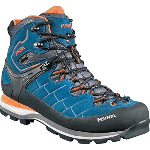 Meindl Litepeak Gtx, Stivali da Escursionismo Uomo, Blu (Blue/Orange), 42 EU